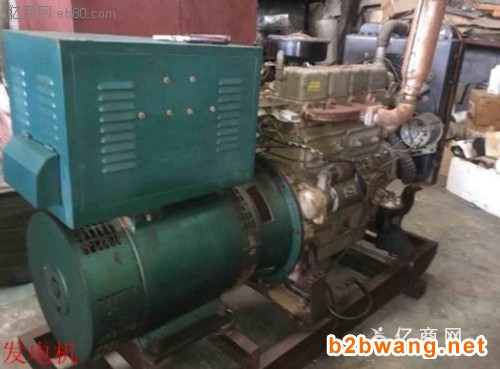 泰州发电机回收泰州二手发电机组回收公司