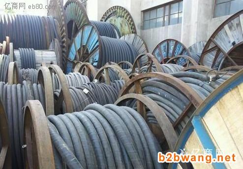 高价回收工地剩余材料电线电缆钢筋架管废旧钢材