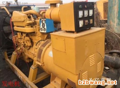 沧浪区发电机回收进口发电机回收现场估价收购
