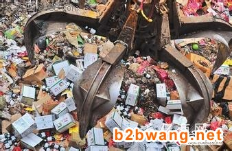 上海有几家正规食品销毁上海**环保饮料食品销毁