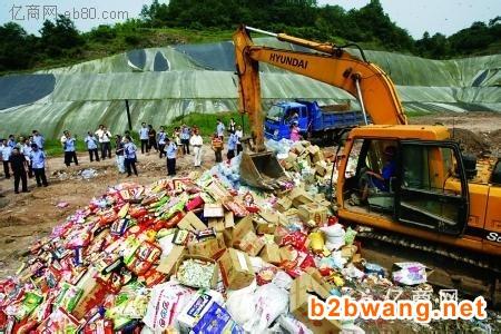 上海负责安全处理食品销毁,宝山过期食品销毁方案图2